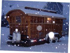 TA classic Reading vardo - Ginn The Baldwin Gypsy Caravan