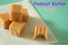 My Cake Porn: Peanut Butter Fudge