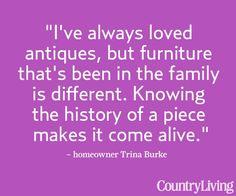 Look inside Trina's Oregon farmhouse for more smart decorating ideas --> http://www.countryliving.com/homes/house-tours/white-farmhouse-christmas
