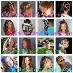 Great blog for little girl hair styles