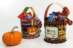 Halloween Treat Baskets