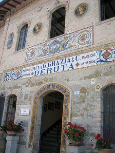 Grazia Ceramics factory, Deruta