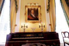 Sam Houston painting in Texas gov Mansion gov mansion, texa gov