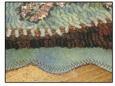 Fun with Wool Finishes - The Grinning Sheep Blog by Kathy of Briarwood Folk Art