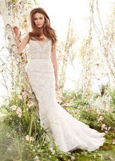 Bridal Gowns, Wedding Dresses by Jim Hjelm - Style jh8414