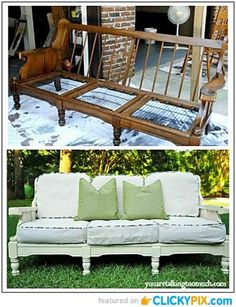 20 Before and After Furniture Makeovers #furniture #makeover
