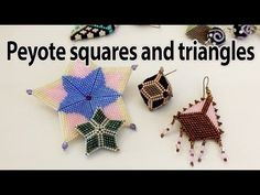 Samples of squares and triangles from my creations - YouTube