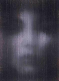 Face, oil on canvas, Alison Van Pelt