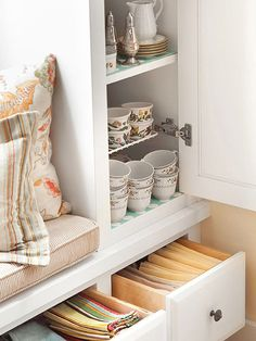 Utilize Drawers