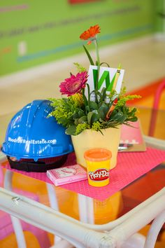 Yes, you saw right. That is Play-Doh on the tables of our employee break room! Here at Woodruff Real Estate, we believe in fun.