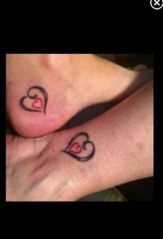 Mother & daughter tattoo
