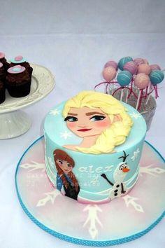 2D Frozen Cake
