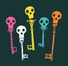 I want a skeleton key tattoo