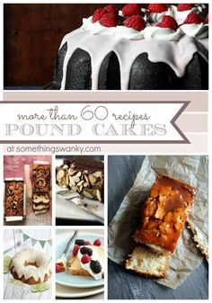 pound cake ideas