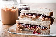 Peanut Butter and JellySandwich  / Manny Rodriguez {best pbj i've seen!}