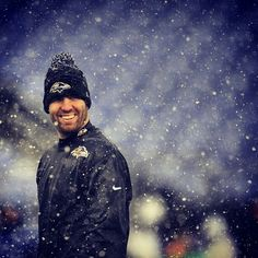Love this picture of Flacco