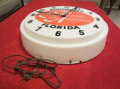 Farm Credit Clock Production Credit by SarasotaVintageWorld, $30.00  Awesome Clock! Great Vintage Collectible from Florida Please Repinit ~ Thanks & Have a GREAT Night