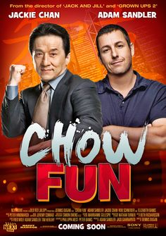 Fake Seinfeld Movie Posters: Chow Fun http://www.nextmovie.com/blog/more-seinfeld-movie-posters/ #Seinfeld #Movies