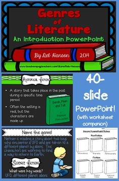 40-slide PowerPoint with a note taking companion!  Several identification slides within the PowerPoint.  $4