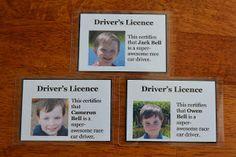 East Coast Mommy: DIY {Race Car} Party