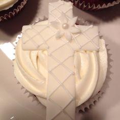 baptism cupcak, baptism idea