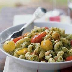 Pesto Cavatappi :) Yumm-O
