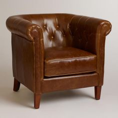 One of my favorite discoveries at WorldMarket.com: Essex Chair