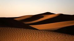 The dunes at Merzoug
