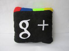 Google Plus icon Pillow