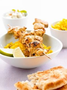 Weight Watchers Chicken Kebabs recipe – 2 points