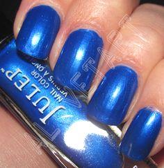 Julep:  Ally (GORGEOUS blue nail polish)