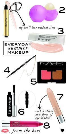 everyday summer makeup. - hair-sublime.com