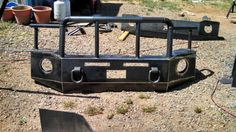 Building and bumpers