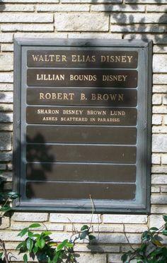 Walt Disney Gravesite