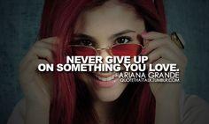 Ariana Grande- or someone you love