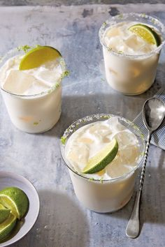 Coconut and Lime Margarita Recipe | Williams Sonoma Taste