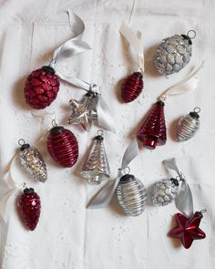 Mercury Glass Ornaments | Balsam Hill