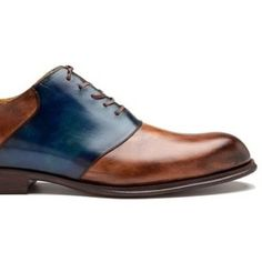 ♂ Man's fashion accessories brown navy blue shoes