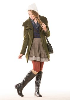 A quirky coat can make all the difference in your chilly weather style. Click for an array of unique outerwear!