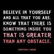 Always believe in u
