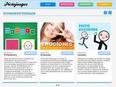 SOFTWARE - Pictojuegos. Pictojuegos forma parte de una serie de aplicaciones desarrolladas con el fin de ayudar a personas que tienen dificultades de expresión mediante el lenguaje oral y que se comunican más eficientemente mediante imágenes. http://www.pictojuegos.com/