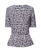 BELTED JACQUARD TOP - Tops - Woman   ZARA United States