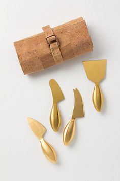 Imperial Cheese Knives, the perfect holiday gift!! #anthropologie