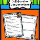 FREE Collaborative Conversations Rules and Recording Sheet