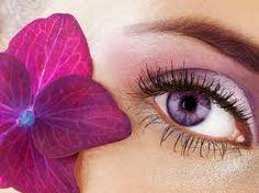 I want purple eyes...