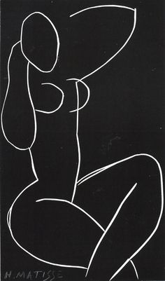 line drawings, henrimatiss, painting art, matisse drawings, self portraits, matisse nude, henri matisse, artist, black