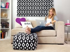 Chic and Functional Dorm Room Decorating Ideas : Decorating : Home & Garden Television