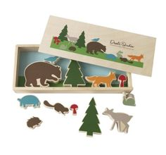 DwellStudio Creative Play Set, Woodland