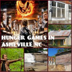 Hunger Games filmed in and around Asheville, NC