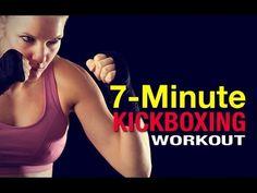 7 Minute Kickboxing Workout